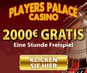 Players Palace und eine Stunde Freispiel